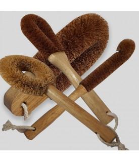 Coir Brush Set
